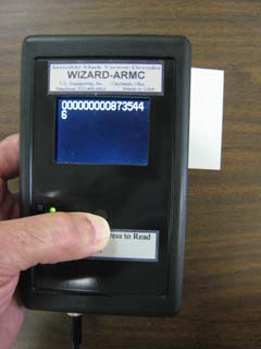 Wizard(TM) ARMC decoded the barcode